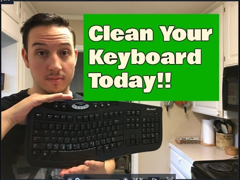How to Clean Your Keyboard | Easy To Follow Tutorial