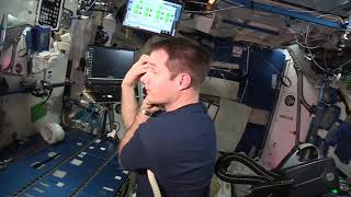 How to Cut Your Hair and Nails in Space | Video