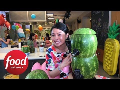 How to Make a Double-Decker Watermelon Keg | Food Network