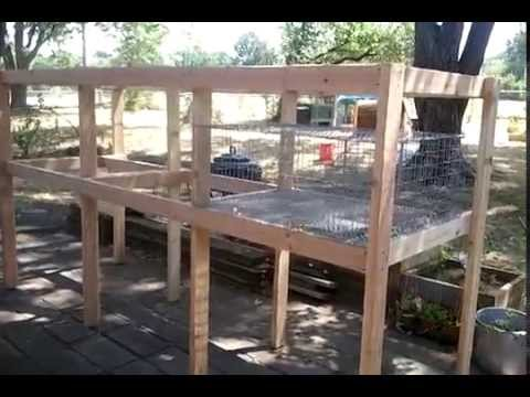 Build a Rabbit Hutch: Completed Frame