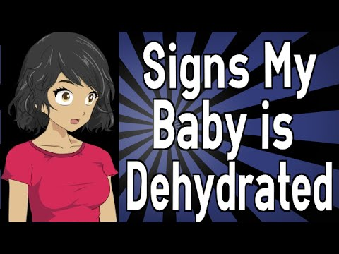 Signs My Baby is Dehydrated