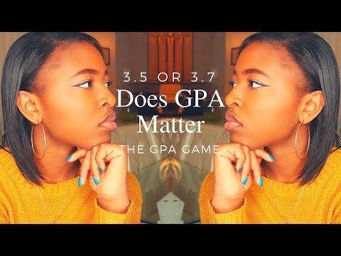 How Much Does GPA Matter When Applying to College?⎜The GPA Game