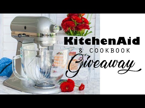 KitchenAid GIVEAWAY + Signed Cookbook (Closed)