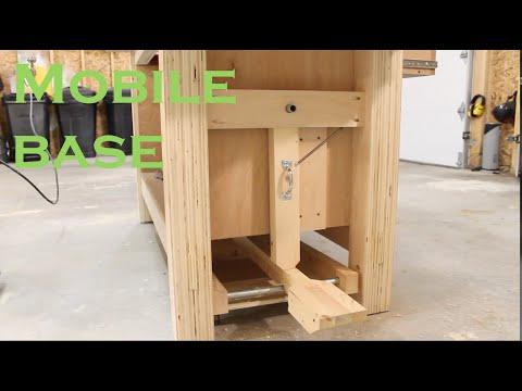 Workbench mobile base