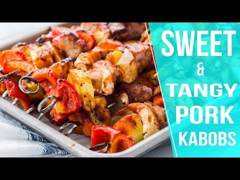 AD | Sweet and Tangy Pork Kabobs | Jelly Toast