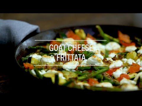 Goat Cheese Frittata