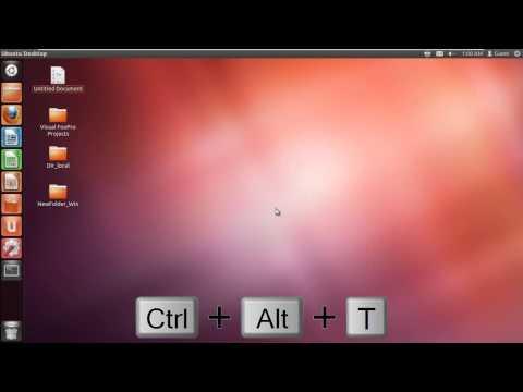 Useful Ubuntu Shortcuts