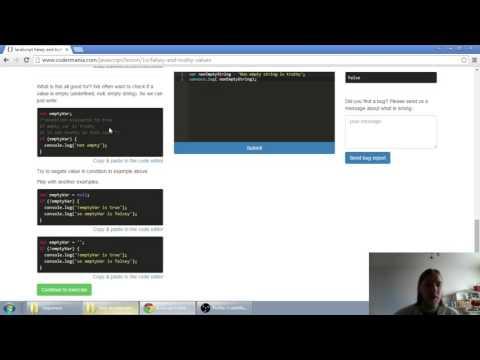 Web developerská škola, časť 25: JavaScript - Falsey a Truthy