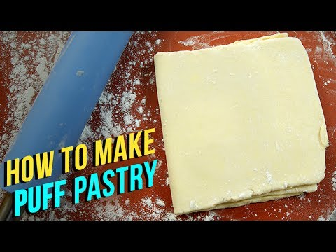 How To Make Puff Pastry | Puff Pastry Recipe | Eggless Recipe | Homemade Puff Pastry Sheet | Upasana