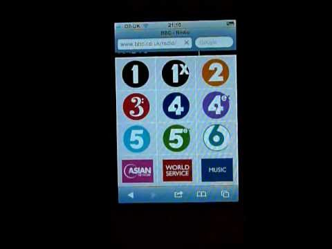How to listen to BBC Radio on iPhone or iPod Touch