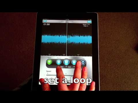 How to slow down music on iphone and ipad with riffmaster p