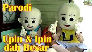 Parodi Upin & Ipin Dah Besar | Badut Upin & Badut Ipin Asik Joget Dan Bernyanyi Lagu Sedih Banget