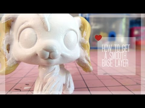 LPS Tutorial: How To Get A Smooth Base Layer On LPS Customs