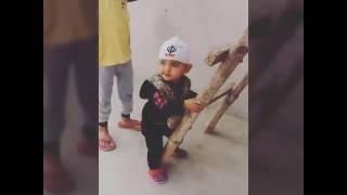 Funny baby punjabi