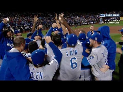 Davis K's Flores, Royals win World Series
