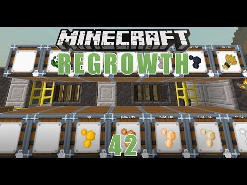 Minecraft Regrowth - #42 - Barrels