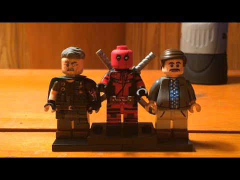 Custom Lego Deadpool 2 Minifigures