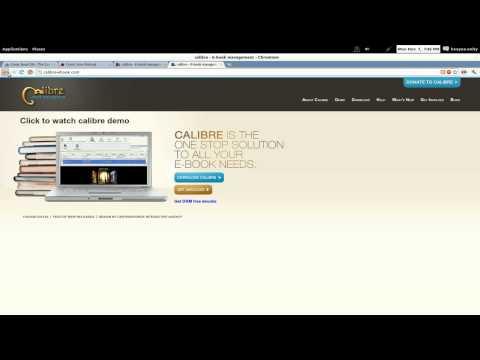 Calibre eBook Content Share - Ubuntu 11.10