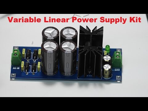 Variable Linear Power Supply Kit