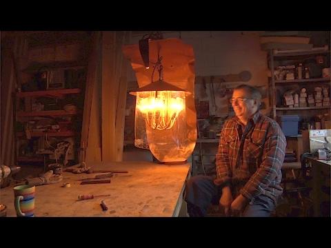 Fire Lamp Sculpture