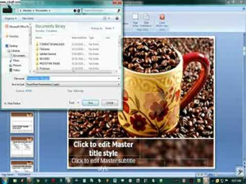 How to add a Default PowerPoint Template.3gp