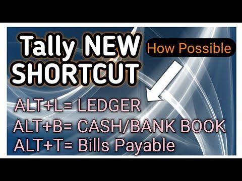 tally add ons GST NEW SHORTCUTS IN TALLY  ALT +L LEDGER TDL  BILLS RECEIVABLE BANK BOOK SKILL BILL