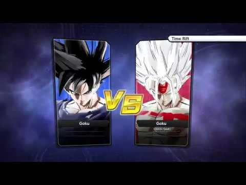 Dragon Ball Xenoverse 2 GOKU Ultra Instinct Vs Omni God Goku