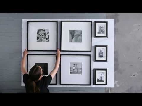 IKEA Ideas: How to hang pictures for a foolproof finish