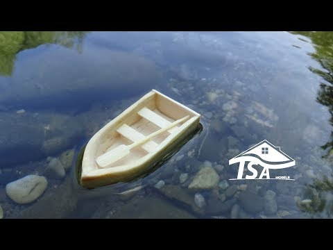 How to make a wooden model boat