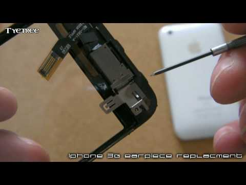 iphone 3g earpiece removal/replacement