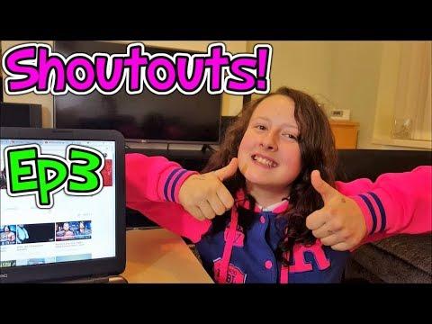 Shoutouts Ep 3! Prankster Kids!