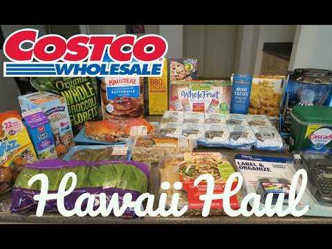 HAWAII🌺 COSTCO HAUL (WITH PRICES)