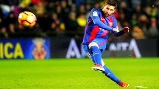 Lionel Messi The PERFECT Free Kick ► Messi Free Kick Goal vs Villareal 2017 ||HD||