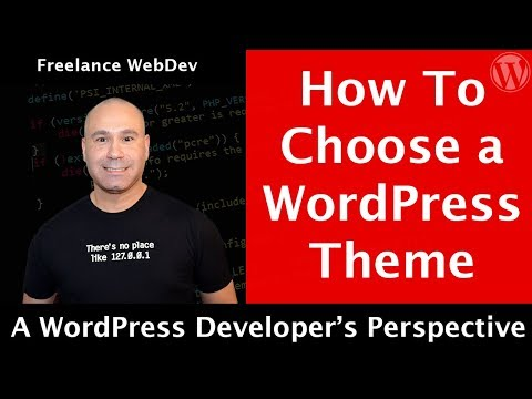 What To Look for in a WordPress Theme like DevWP - A Developers Perspective
