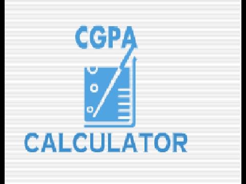 calculate BE mechanical enginearing CGPA calculator