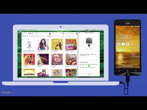 Android: How to Transfer iTunes Music to ASUS ZenFone 5 on Mac ?