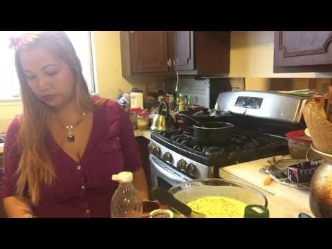 Making BANH XOI  Vietnamese recipes part 1 continue
