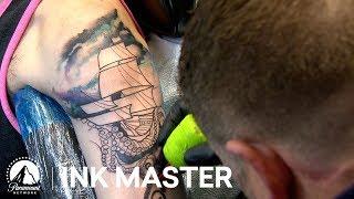 Elimination Tattoo: Surrealistic Art | Ink Master: Battle of the Sexes (Season 12)