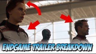 Avengers: Endgame - Trailer #2 Breakdown (Shot by Shot)