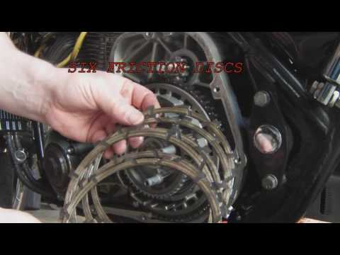 Changing The Clutch Plates On A 1989 Harley FXRS-SP