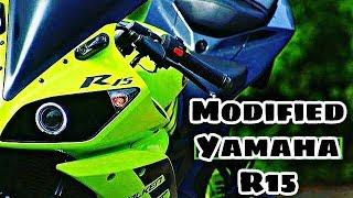 Rtr 160 To R15 Bike modification 2018