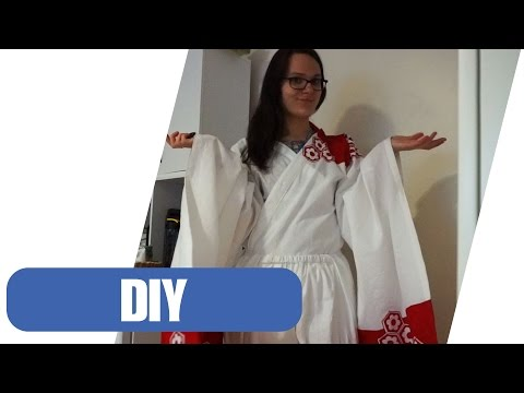 Kimono Nähen | Sesshomaru Cosplay Teil 2
