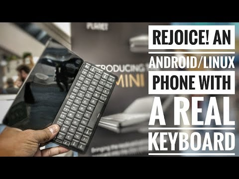 Checking out a Phone with Android, Linux & a Physical Keyboard