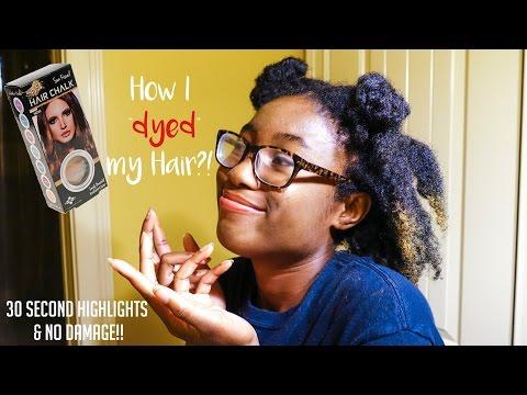 Splat Hair Chalk Review + Tutorial