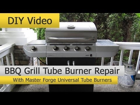 DIY BBQ Grill Repair with Master Forge Universal Tube Burners