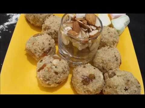 Suji ke ladoo | Dry fruits mawa chaasni mei banayein | Desi ghee