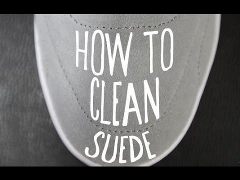 Suede Shoes Cleaning at home