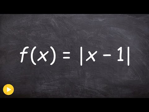 How to determine if the derivative exist from the left and right of a absolute value
