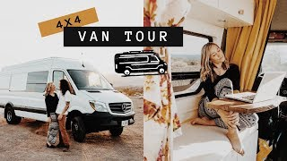 4x4 Sprinter Van Conversion Tour With Shower | Dynamo Ultima