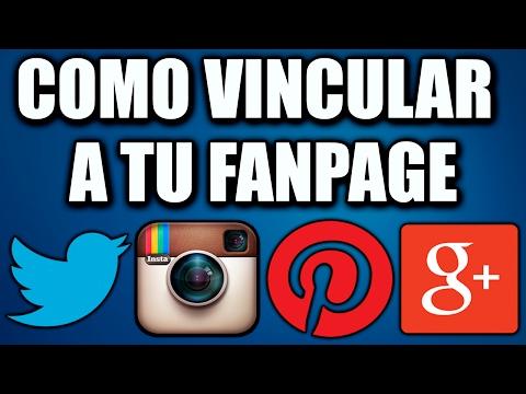 Como Vincular Instagram, Youtube y Twitter a tu Fanpage - 2017
